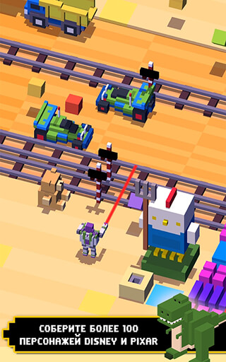 Disney: Crossy Road скриншот 1