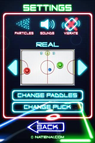 Glow Hockey 2 скриншот 3