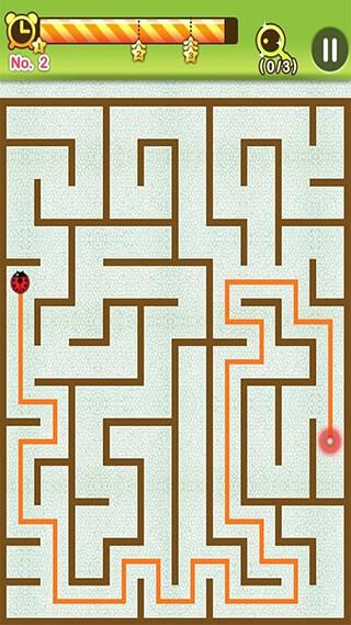 Maze King скриншот 2