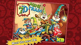 The 7D: Mine Train скриншот 1