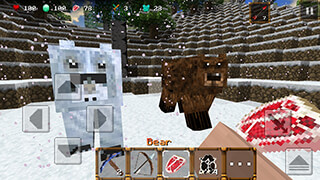 Winter Craft 3: Mine Build скриншот 1