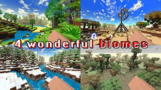 SimpleCraft 2: Biomes скриншот 1