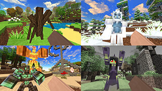 SimpleCraft 2: Biomes скриншот 2