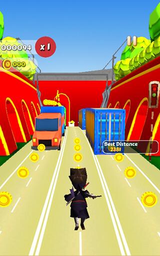 Run Subway Ninja скриншот 1