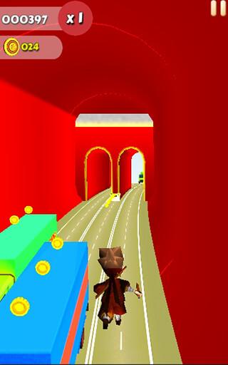 Run Subway Ninja скриншот 2
