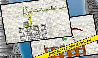 Stickman: Base Jumper скриншот 2