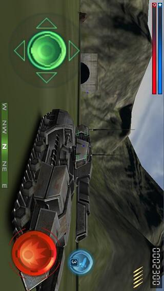 Tank Recon 3D Lite скриншот 1