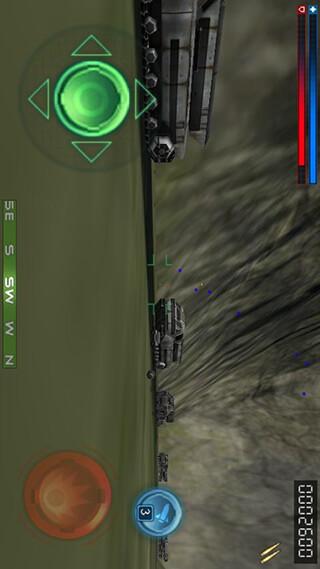 Tank Recon 3D Lite скриншот 3