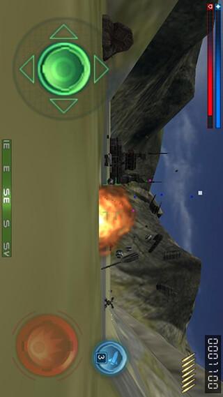 Tank Recon 3D Lite скриншот 4