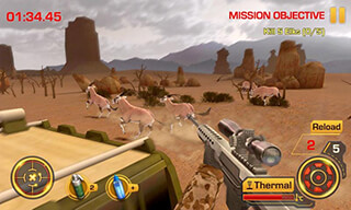 Wild Hunter 3D скриншот 1