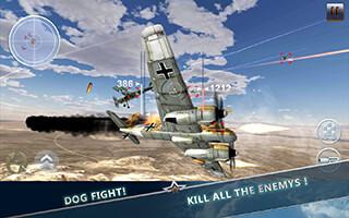 WW2 Aircraft Battle: Combat 3D скриншот 1