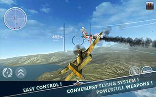 WW2 Aircraft Battle: Combat 3D скриншот 2