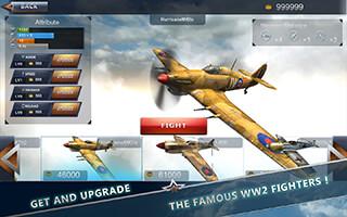 WW2 Aircraft Battle: Combat 3D скриншот 3