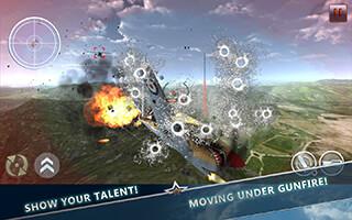 WW2 Aircraft Battle: Combat 3D скриншот 4
