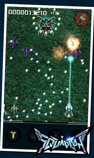 Squadron: Bullet Hell Shooter скриншот 1