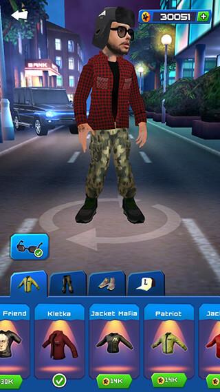 Black Star: Runner скриншот 1