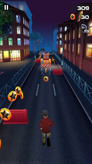 Black Star: Runner скриншот 4