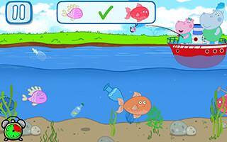 Kids Fishing скриншот 3