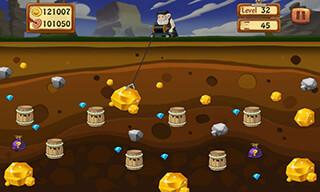 Classic Gold Miner скриншот 1