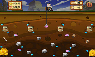 Classic Gold Miner скриншот 3