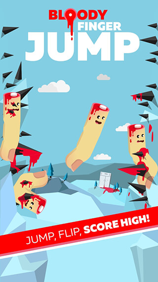 Bloody Finger: Jump скриншот 1