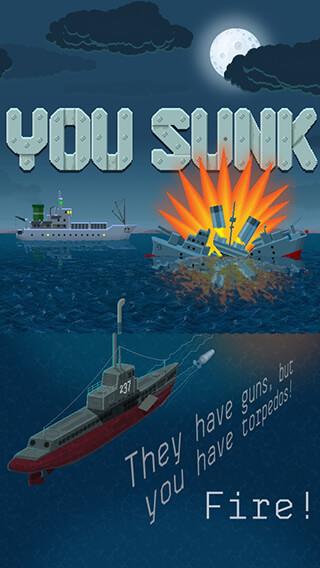 You Sunk: Submarine Game скриншот 1