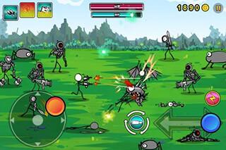 Cartoon Wars: Gunner+ скриншот 2