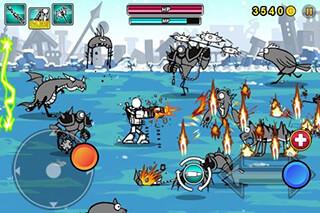Cartoon Wars: Gunner+ скриншот 3