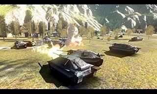 Battlefield Tank скриншот 2