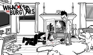 Whack the Burglars: Robbers скриншот 2