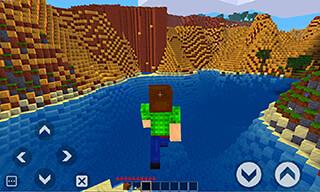 Survivalcraft: Minebuild World скриншот 1