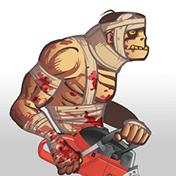 Zombie Warrior Man 18+ иконка