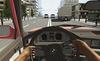 Racing in Car скриншот 1