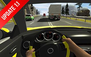Racing in Car скриншот 2