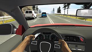 Racing in Car скриншот 3