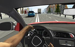 Racing in Car скриншот 4