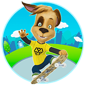 Pooches: Skateboard иконка