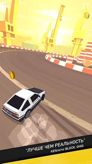 Thumb Drift: Furious Racing скриншот 3
