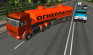 Traffic Hard Truck Simulator скриншот 2