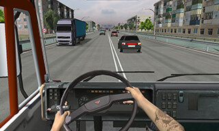 Traffic Hard Truck Simulator скриншот 3