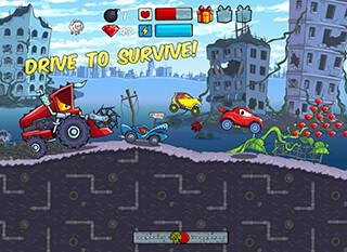 Car Eats Car: Apocalypse Racing скриншот 2