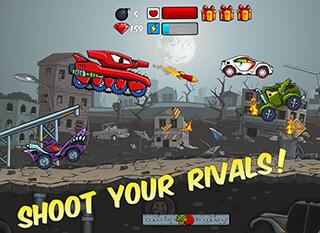 Car Eats Car: Apocalypse Racing скриншот 4