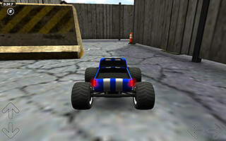 Toy Truck Rally 3D скриншот 1