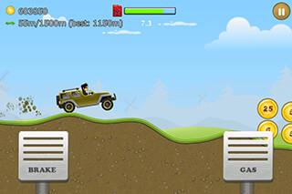 Up Hill Racing: Hill Climb скриншот 3