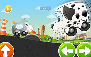 Kids Car Racing game: Beepzz скриншот 2