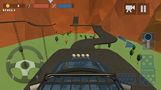 Hill Climb Race 3D 4x4 скриншот 1