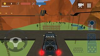 Hill Climb Race 3D 4x4 скриншот 2