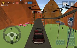 Hill Climb Race 3D 4x4 скриншот 3