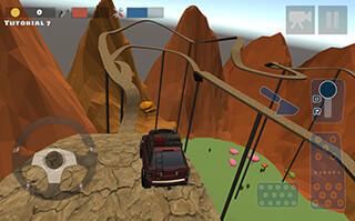 Hill Climb Race 3D 4x4 скриншот 4
