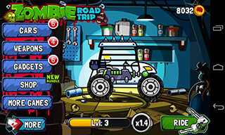 Zombie Road Trip скриншот 2